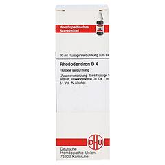 RHODODENDRON D 4 Dilution 20 Milliliter N1 - Vorderseite