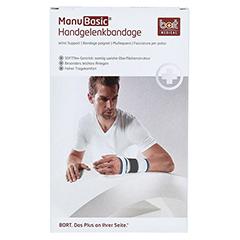 BORT ManuBasic Bandage rechts small haut 1 Stück - Vorderseite