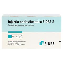 INJECTIO antiasthmatica Fides S Ampullen 50 Stück N2 - Vorderseite