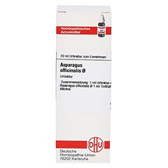 ASPARAGUS OFFICINALIS Urtinktur 20 Milliliter N1 - Vorderseite