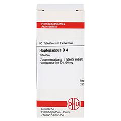 HAPLOPAPPUS D 4 Tabletten 80 Stück N1 - Vorderseite