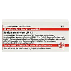 LM NATRIUM sulfuricum XII Globuli 5 Gramm N1 - Vorderseite