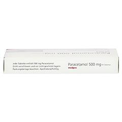 Paracetamol 500mg medpex 20 Stück N2 - Oberseite