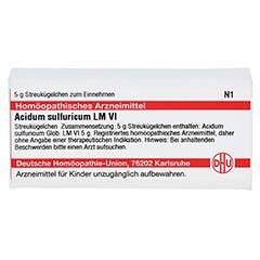 LM ACIDUM sulfuricum VI Globuli 5 Gramm N1 - Vorderseite