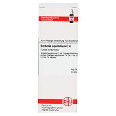 BERBERIS AQUIFOLIUM D 4 Dilution 50 Milliliter N1 - Vorderseite