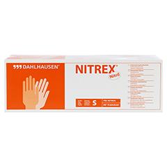 NITRIL Handschuhe ungepudert Gr.S 200 Stück - Vorderseite