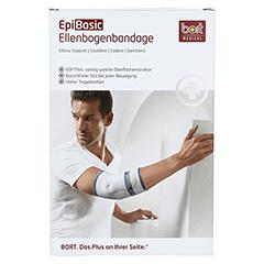 BORT EpiBasic Bandage XL schwarz 1 Stück - Vorderseite
