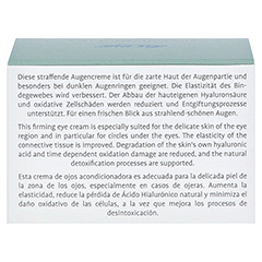 LA MER SUPREME Natural Lift Anti Age Cream Auge ohne Parfüm 15 Milliliter - Rückseite