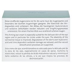 LA MER SUPREME Natural Lift Anti Age Cream Auge ohne Parfüm 15 Milliliter - Rückseite