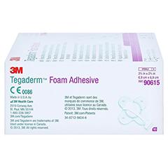 TEGADERM Foam Adhesive 6,9x6,9 cm kreuzform 90615 10 Stück - Linke Seite