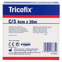 TRICOFIX Schlauchverband Gr.C 4 cmx20 m 1 Stück - Linke Seite