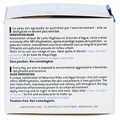 NUXE Creme fraiche de beaute Reichhaltige 48h Feuchtigkeitscreme 50 Milliliter - Linke Seite