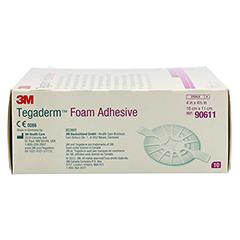TEGADERM 3M Foam Adhesive 10x11 cm oval 90611 10 Stück - Rechte Seite