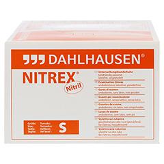 NITRIL Handschuhe ungepudert Gr.S 200 Stück - Rechte Seite
