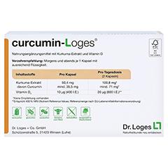 CURCUMIN-LOGES Kapseln 120 Stück - Rückseite