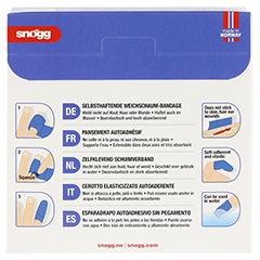 SNOEGG Soft Next Pfl.6 cmx4,5 m latexfrei blau 1 Stück - Rückseite
