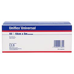 UNIFLEX Universal Binden 10 cmx5 m Zellglas weiß 10 Stück - Rückseite