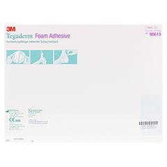 TEGADERM Foam Adhesive 13,9x13,9 cm 5 Stück - Rückseite