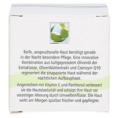 OLIVENÖL vitalfrisch Nachtpflege Creme 50 Milliliter - Rückseite