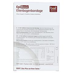 BORT EpiBasic Bandage XL schwarz 1 Stück - Rückseite