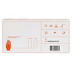 NITRIL Handschuhe ungepudert Gr.S 200 Stück - Unterseite