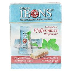 INGWER BONBONS Original Pfefferminze 60 Gramm - Vorderseite