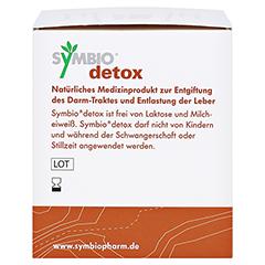 Symbio Detox Pulver 30 Stück - Rechte Seite