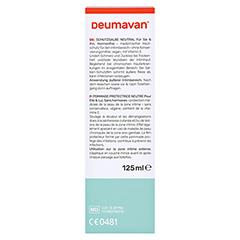 Deumavan Schutzsalbe Neutral Tube 125 Milliliter - Rückseite