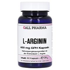 L-ARGININ 400 mg Kapseln 60 Stück