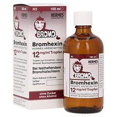 Bromhexin Hermes Arzneimittel 12mg/ml 100 Milliliter N3
