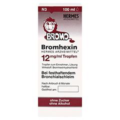 Bromhexin Hermes Arzneimittel 12mg/ml 100 Milliliter N3 - Vorderseite
