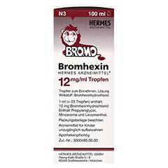 Bromhexin Hermes Arzneimittel 12mg/ml 100 Milliliter N3 - Linke Seite