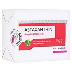 ASTAXANTHIN 4 mg GPH Kapseln 180 Stück