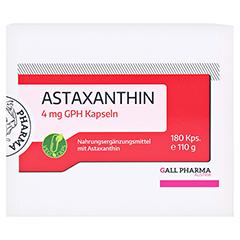 ASTAXANTHIN 4 mg GPH Kapseln 180 Stück - Vorderseite