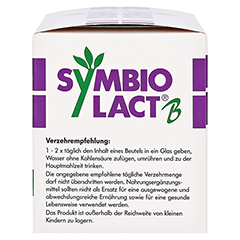 SYMBIOLACT B Beutel 30 Stück - Rechte Seite
