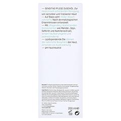EUBOS SENSITIVE Dusch Öl F 200 Milliliter - Rückseite