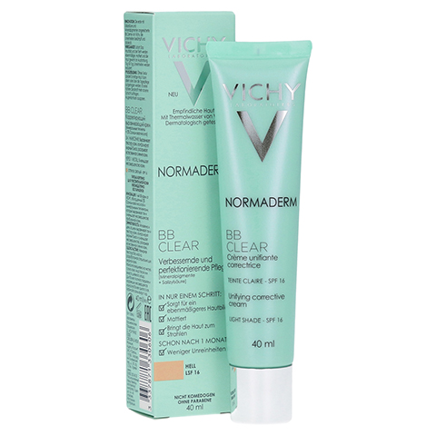 VICHY NORMADERM BB Clear Creme hell LSF 16 40 Milliliter