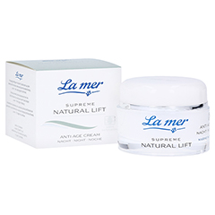 LA MER SUPREME Natural Lift Anti Age Cream Nacht 50 Milliliter
