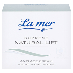 LA MER SUPREME Natural Lift Anti Age Cream Nacht 50 Milliliter - Vorderseite