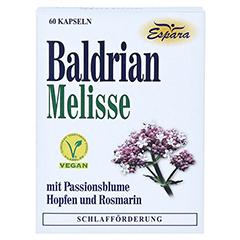 BALDRIAN MELISSE Kapseln 60 Stück - Vorderseite