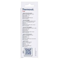 THERMOVAL kids digitales Fieberthermometer 1 Stück - Rückseite