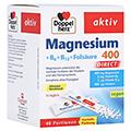 Doppelherz aktiv Magnesium 400 + B6 + B12 + Folsäure Direkt 40 Stück