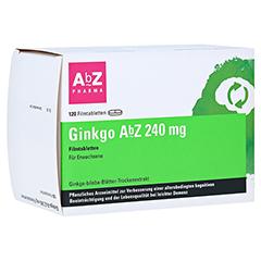 Ginkgo AbZ 240mg 120 Stück N3