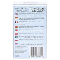 TANGLE Teezer Original Haarbürste schwarz 1 Stück - Rückseite