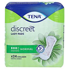 TENA LADY Discreet Einlagen normal 24 Stück - Vorderseite