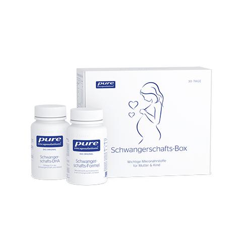PURE ENCAPSULATIONS Schwangerschafts-Box Kapseln 60 Stück