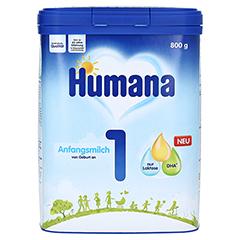 HUMANA Anfangsmilch 1 Pulver 800 Gramm - Vorderseite