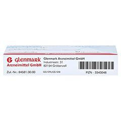 Levocetirizin Glenmark 5mg 20 Stück N1 - Oberseite