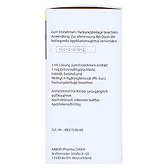 Cetirizin Aristo Allergiesaft 1mg/ml 75 Milliliter N1 - Rechte Seite