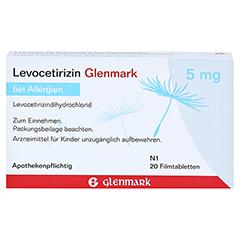 Levocetirizin Glenmark 5mg 20 Stück N1 - Rückseite